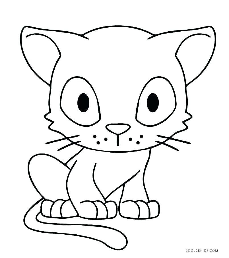 805x906 Cat Colouring In Pages Cat Coloring Pages To Print Fresh Coloring