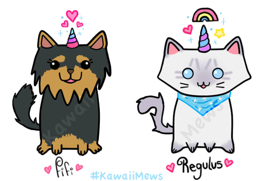550x370 Draw Cats And Dogs As Unicorns Or Mermaids