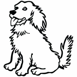 320x320 Hd Coloring Pages Pretty Easy Drawings Of Dogs Dog Coloring