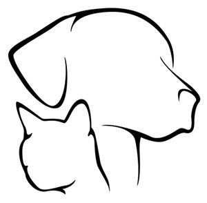 300x294 Huge Collection Of 'dog And Cat Silhouette Clip Art Free