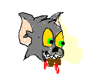 300x250 Collection Of Free Mouse Drawing Cat Eating Download On Ui Ex