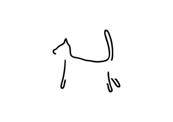 600x424 Contour Drawing Art