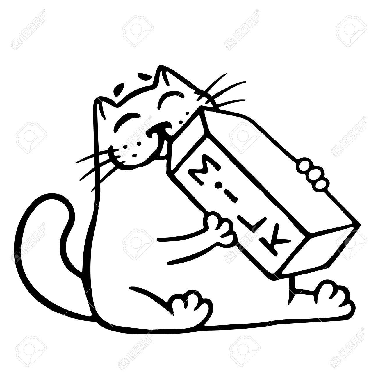 1300x1300 At Clipart Cat Drinking Milk Cartoon Is Funny Cool