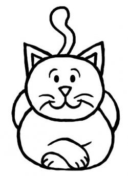 250x344 How To Draw A Cat Step