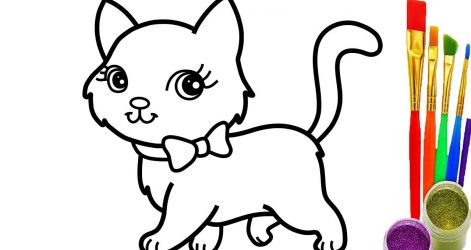 471x250 Cat Drawings Crazy Bucket Baby Simple Cute Pencil Aristocats