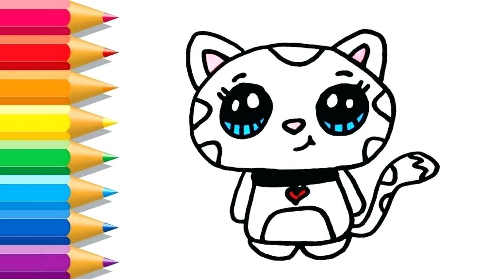 1024x576 How To Draw A Cartoon Cat Easy