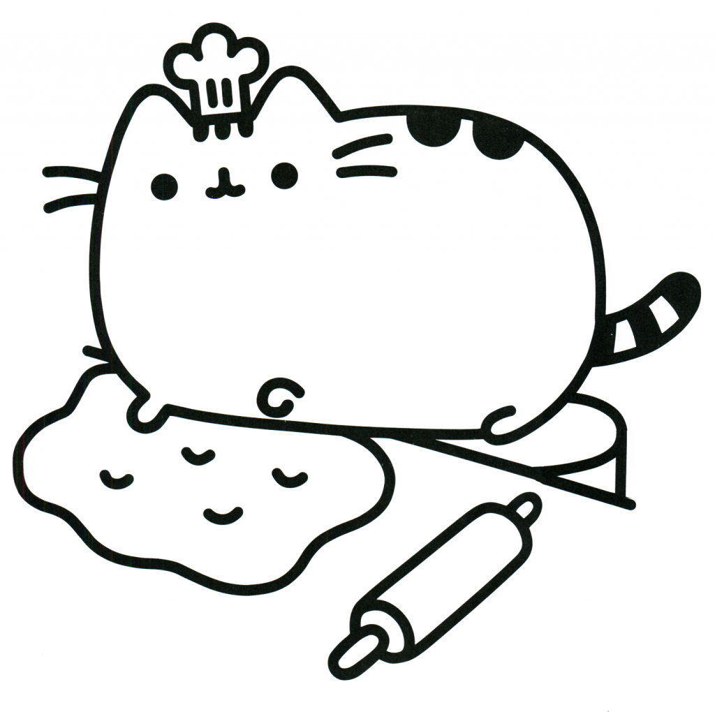 1024x1020 Pusheen Coloring Pages Carto Peaceful Ideas Cat Color