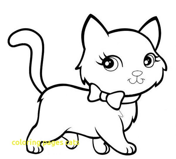 600x542 Cosy Coloring Pages Cats Cat Color Preschool Slimaster Cheer