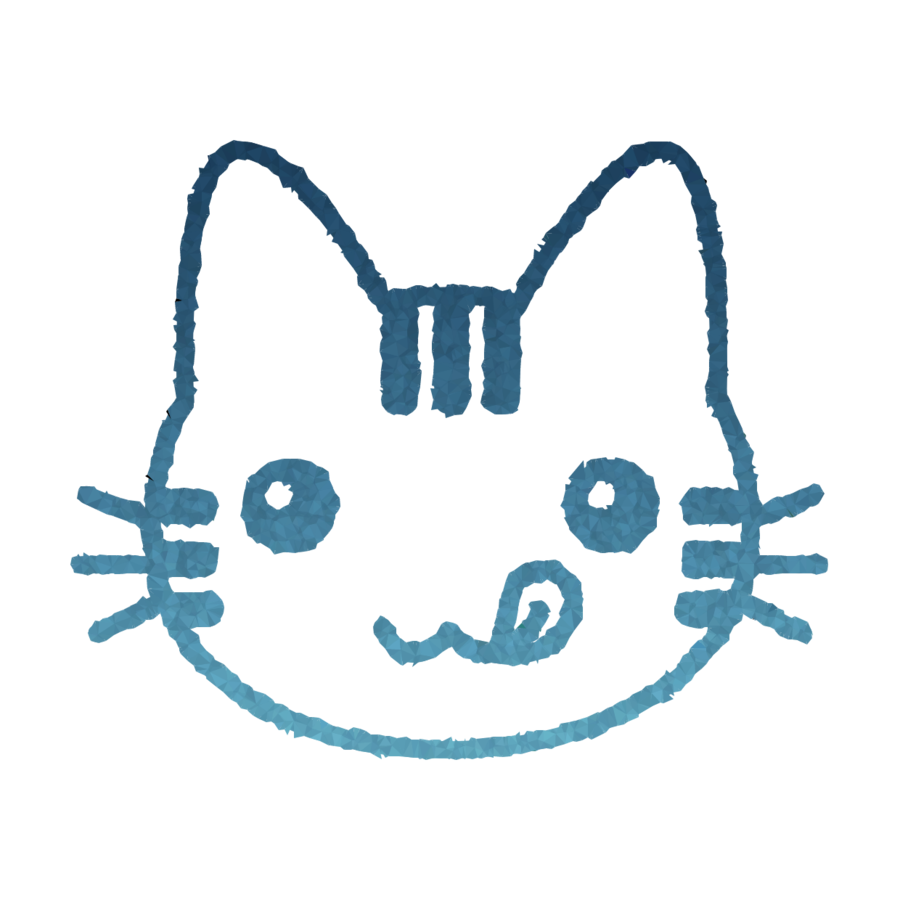 900x900 Cat, Drawing, Face, Transparent Png Image Clipart Free Download