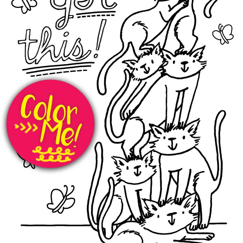 794x794 Coloring Pages Download Cat Coloring