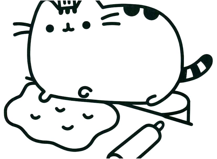 827x609 Fat Cat Coloring Pages Cat Coloring Pages Printable Best Dog