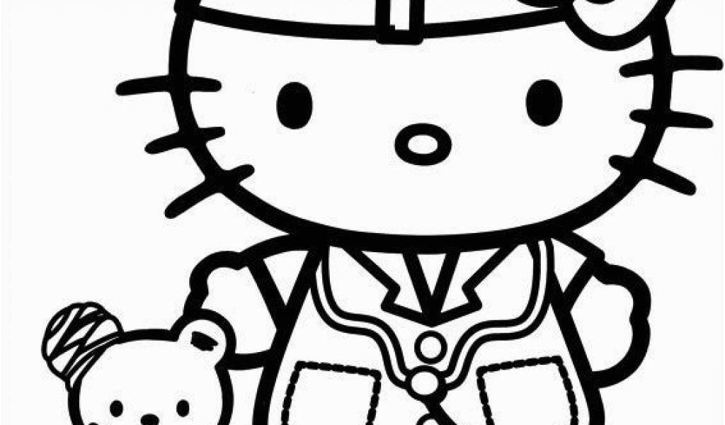 1024x600 Hello Kitty Coloring Pages Free Online Game Cat Coloring Pages