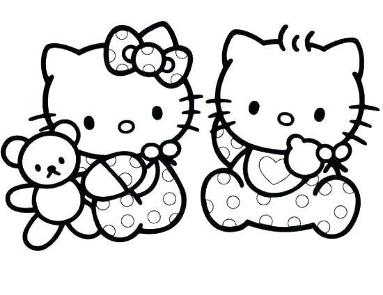 550x424 kitten coloring pages baby kitten coloring pages best of cat