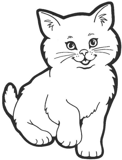 497x655 Cats Ampdogs Cat Drawing, Cat Coloring