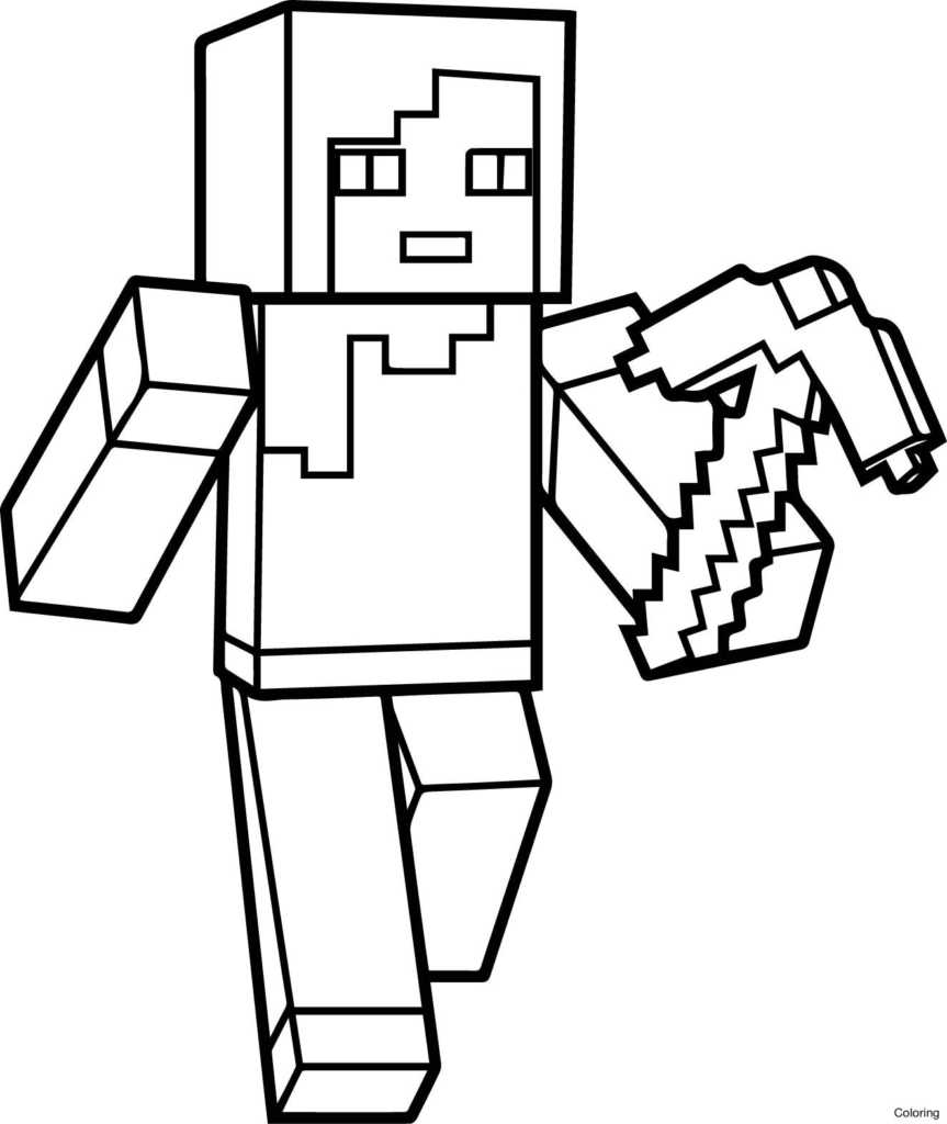 863x1024 Stampy Long Nose Coloring Pages Stampy Coloring Pages New