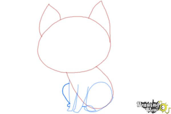 600x400 How To Draw A Cat Step