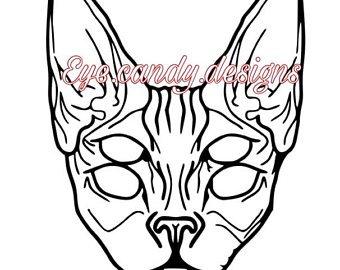 340x270 Cat Eye Tattoo Etsy