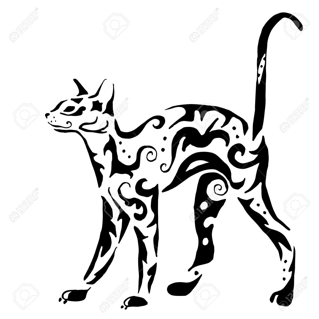 1300x1300 Latest Pamela's Egyptian Cat Tattoo Pamela's Egyptian Cat