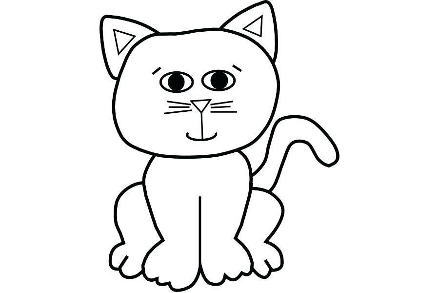 900x600 Cat Outlines Cat Clip Art Outline Download Free Transparent