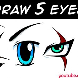 250x250 Cute Cat Eyes Drawing Puppy Simple How To Make Crying Big