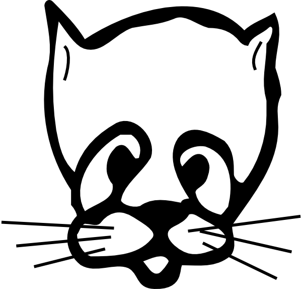600x573 Sad Cat Face Drawing Png, Clip Art For Web