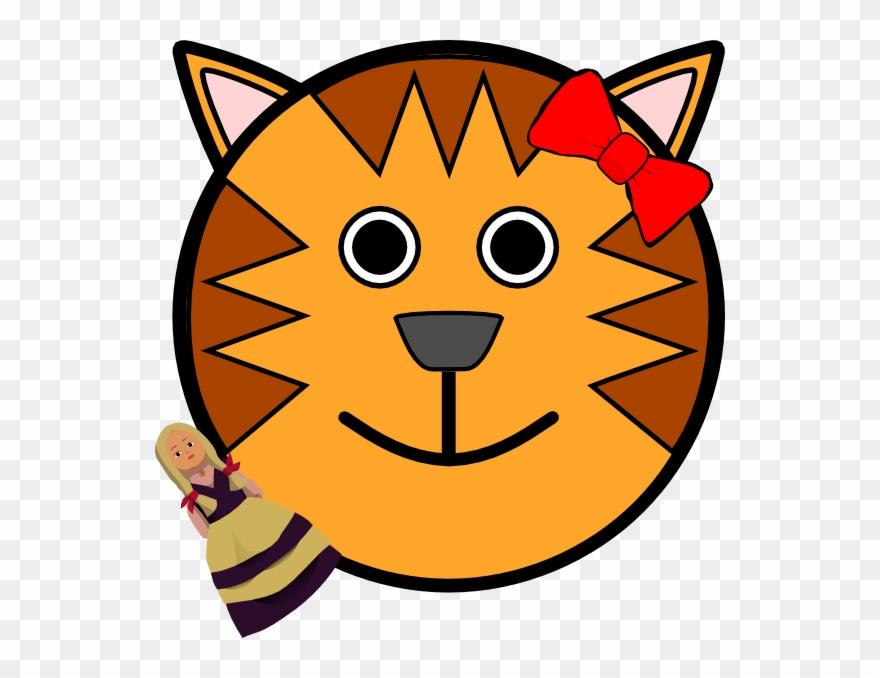 880x678 Cartoon Tiger Face Clipart Cat Clip Art