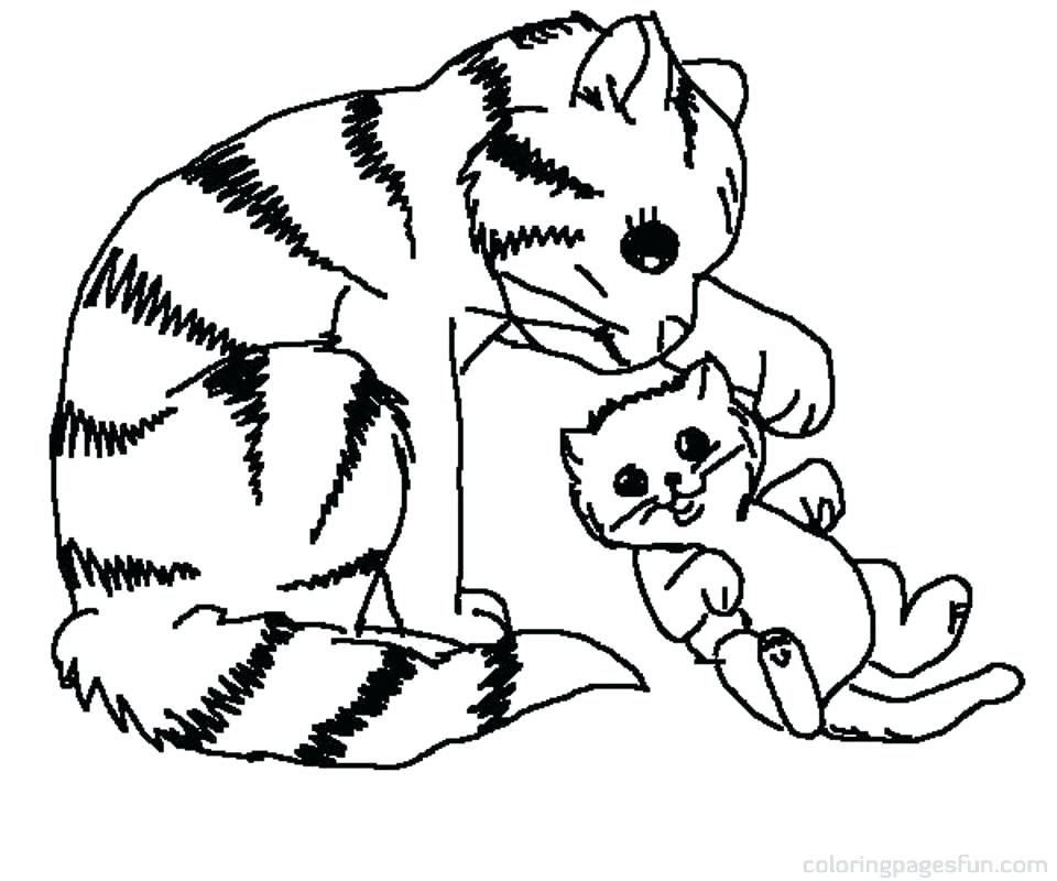 960x800 Kitty Cat Drawing Running