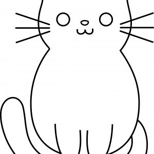 300x300 Simple Cat Drawing Tutorial Archives