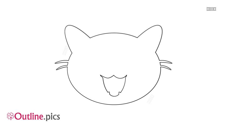 934x534 Cat Head Outline Clipart Outline Pics
