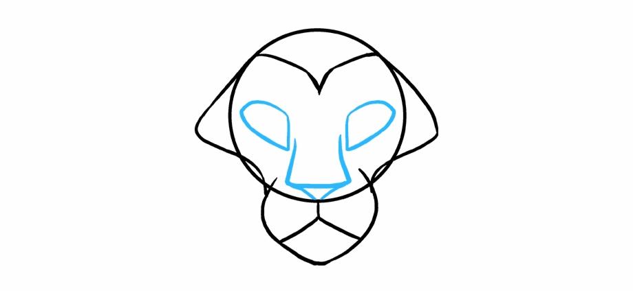 920x427 How To Draw Lion Head