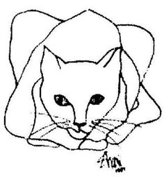 236x255 Best Cat Head Drawing Images In Draw, Drawings, Paintings