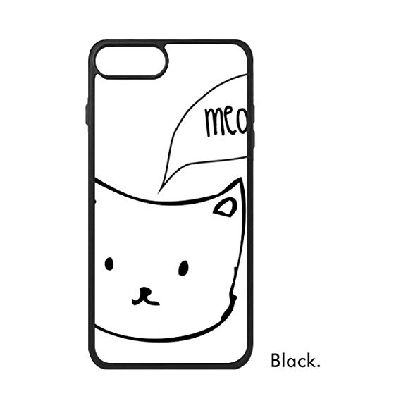 569x569 White Cat Head Meow Simple Line Drawing Protect Animal