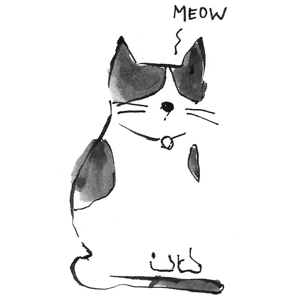 1000x1000 Cat Meow Ink Tattoooie