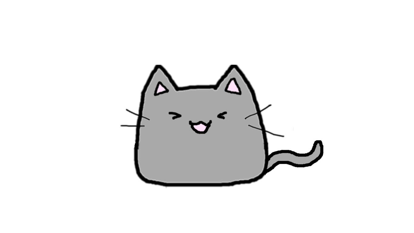 1364x768 drawing a cat blob tynker