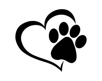 340x270 Cricut Free Dog Paws, Dog