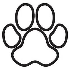 236x235 Best Photos Of Cat Paws Coloring Pages Paw Prints