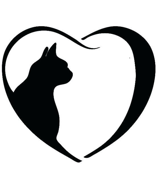 570x675 Cat Outline Cat Outline Coffee Mug Cat Head Outline Tattoo