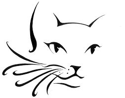 253x199 Image Result For How To Draw Cat Paw Print Silhouettes Cat
