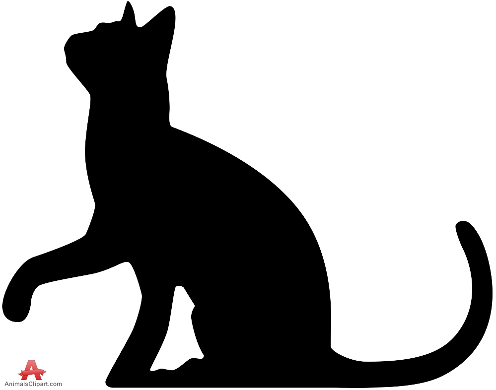 999x786 Incredible Cat Silhouette Clip Art Dog At Get Drawing Com Free