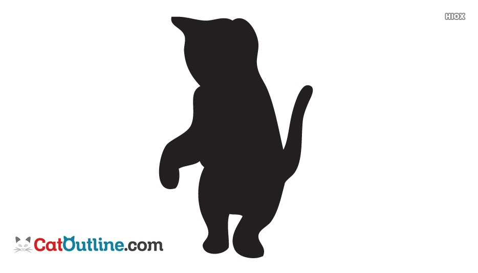 934x534 Kitten Outline Drawings