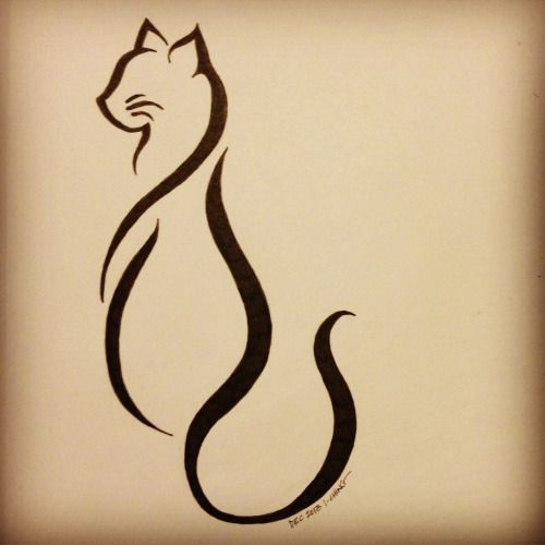 500x500 Design Art Kallimao This Is The Finalized Cat Tattoo