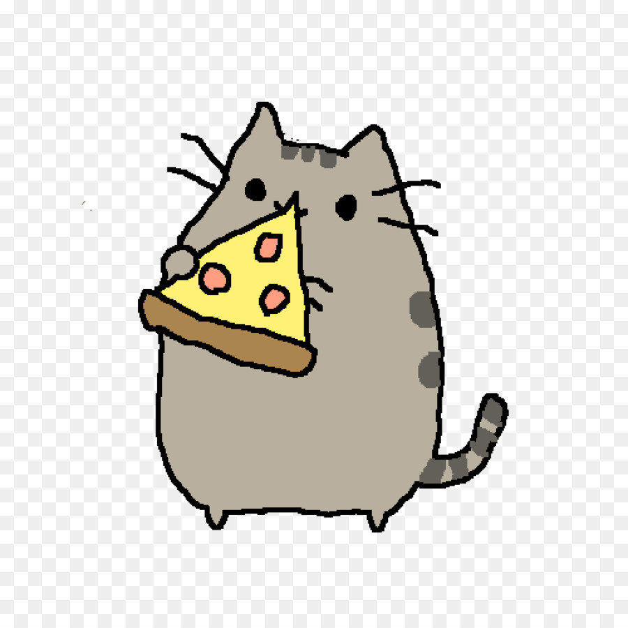 900x900 Cat Pusheen Drawing Pizza Steve