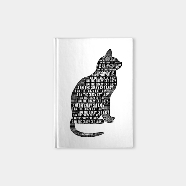630x630 Crazy Cat Lady Word Cloud Art