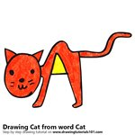 150x150 Learn How To Draw A Cat From Word Cat