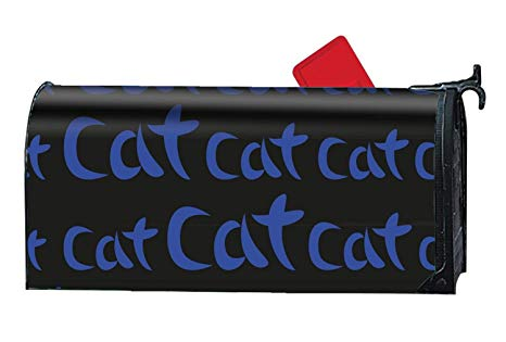 466x315 Blair Louisa Blue Hand Drawing Word Cat Pattern