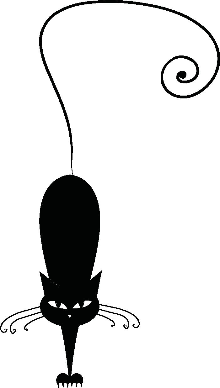 701x1238 Gatti Stilizzati