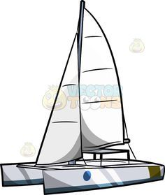 236x279 image result for sailing catamaran cartoon craft ideas sailing