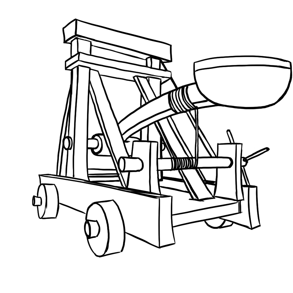 Catapult Drawing