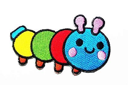 425x282 multi color larva worm caterpillar green tea worm