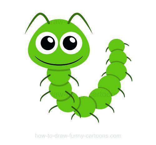 500x466 caterpillar drawing draw a caterpillar caterpillar drawings cute